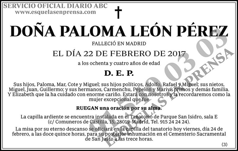 Paloma León Pérez